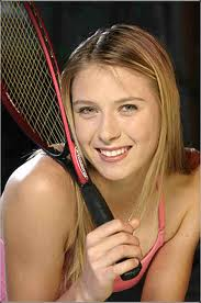 Maria Sharapova - Tennis star Maria Sharapova