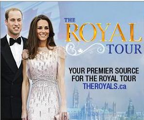 Royal visit in Canada - The Royal couple in Canada