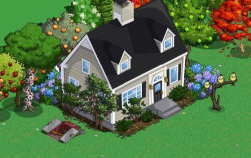 House - A farm house you can buy for your Farmville farm.
