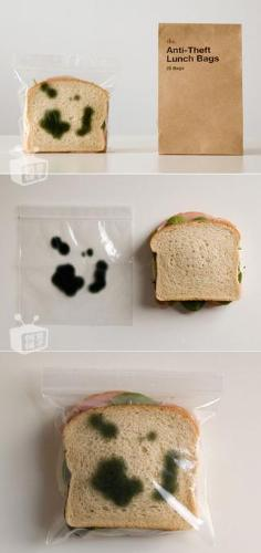 anti-theft lunch bag - a photo of the anti-theft lunch bag