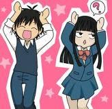 kimi ni todoke anime - weird dance? haha!