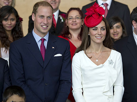 The newly weds - Newly weds Prince William and Duchess Catherine arriving in Canada.