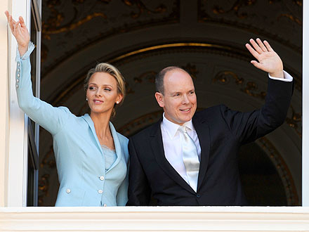 Prince Albert - Prince Albert married his finace today on Monaco. It is about time! He is 53!