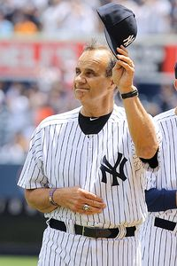 Joe Torre - Torre returned to Yankee stadium for an ol -timers game!