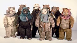 Ewoks - Ewoks were in the Star Wars 'Return of the Jedi:.