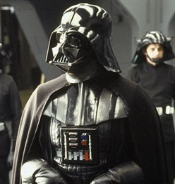 darth Vader - The evil leader of the Dark Side!