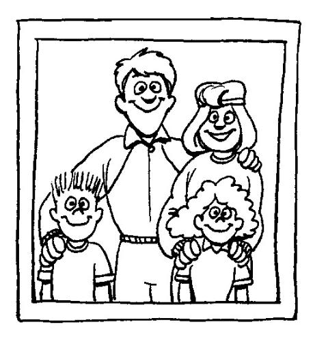 family - family cartoon