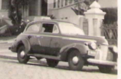 A car  - Photo of a car in the twentieth century