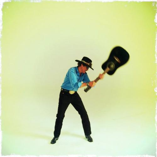Richard Petty - Richard channeling his inner rock star.