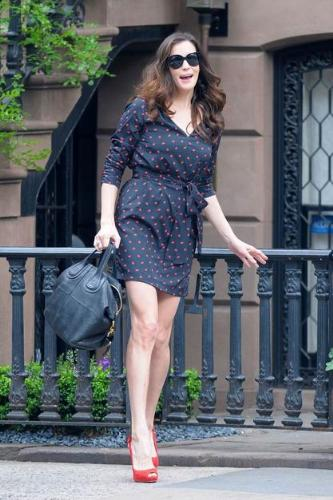 Liz Tyler - Didn't know,until recently,Liz Tyler has fashion sense! Good for her!