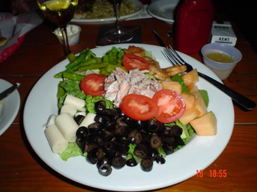 Salad as a whole diner - A wonderful salad to slim down and eat well