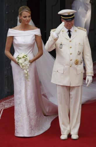 The new Royal Couple - The New Royal couple is Monco's Prince Albert and Princess Charlene. They married on Friday.