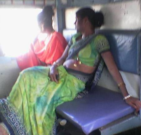 is this a gay - this is a man dressed as woman they move in train beg money indirectly