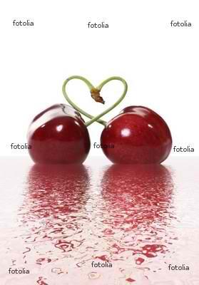 love - cherry heart