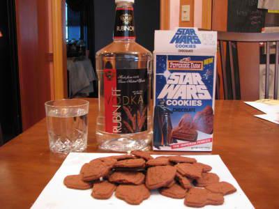 cookies - cookies and vodka