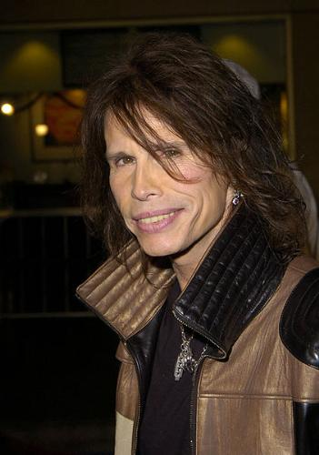 Steven Tyler - Lead singer for Aerosmith and judge on American Idiol.