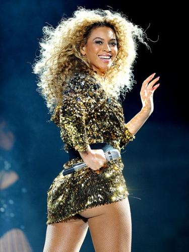 Beyonce - Beyonce is a sassy outfit she recently wore in concert.
