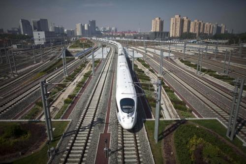 Train - The new train in China that is super fast.