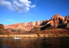 Grand Canyon - The Colorado river runs through the Grand Canyon. You can rage and canoe through the canyon.