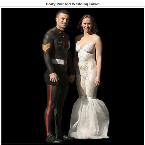 body painted wedding dress - body painted wedding dress body painted wedding dress