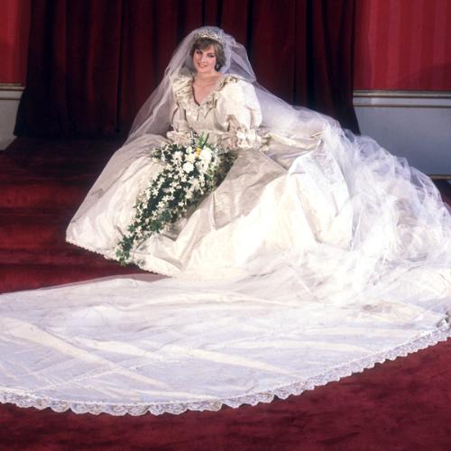 Princess Diana - Princess Diana on her wedding day! She was a very young,naive and vunerable person when she got married!