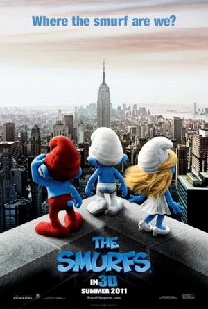 The Smurfs - The Smurfs are coming to the big screen this month. I love the smurfs! I hope it is a good movie!