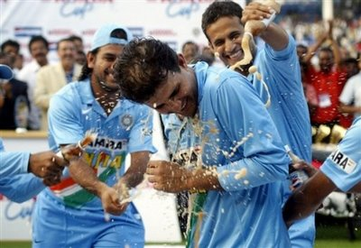 Saurav Ganguly - Saurav Ganguly- Great captain and great all-rounder.