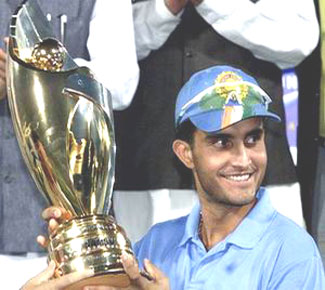 Saurav ganguly - The first best captain in India.