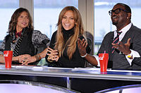 Judges - The current American Idiol judges. Steven Tyler,Jennifer Lopaz and Randy Jackson.