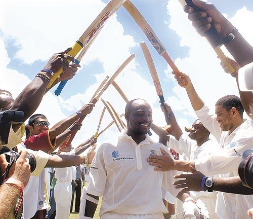 Brian Lara - Lara-Great west Indies left handed batsman.