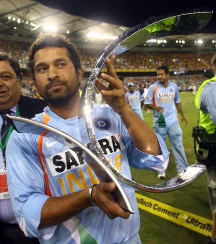 Sachin Tendulkar - Tendulkar- The best player ever played the game of cricket.