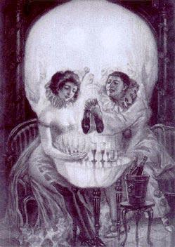 Skull - horrifying skull