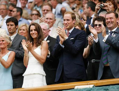 Princess William and Catherine - Both were at Wimbleton watching some of the tennis matchings.