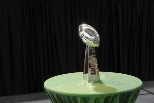The Lombardi Trophy! - The Packers brought it home when they won Super Bowl XLV over Pittsburg!