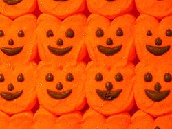 Peeps - Halloween peeps. I never liked peeps! i know alot of people do, I just don't.