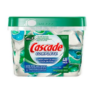 Cascade - Was it a drink or a dishwasher from of a blast today, lol