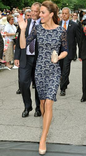 Kate Middleton - Kate and Prince William are touring canada. She has a great taste for fashion!