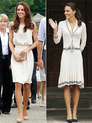 Canada fashion - Here are two of some of the dresses Kate has worn while touring Canada!