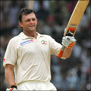 Adam - Adam Gilchrist-the best australian wicket kipper.