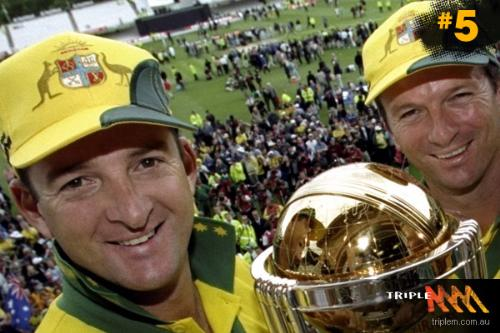 Mark Waugh - Two brother Mark and Steve Waugh