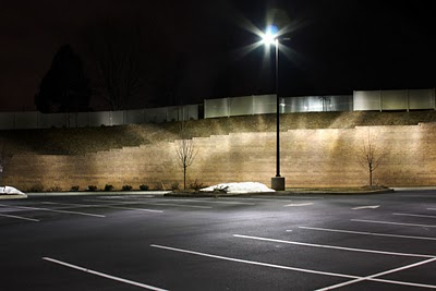 Parking Lots - dimly lit and scary places to park your car