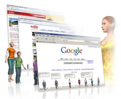Surfing and downloading. - Surfing net especially from Google site is simply an amazing thing. You can surf anything you like and also download its maximum size. I like it.