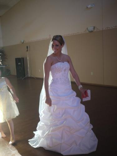 Sarah - This is my friend Sarah. She got married 7/2/2011.