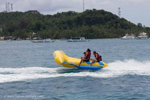 flyfish in Boracay, Philippines - experience the rush of FLYFISH!
