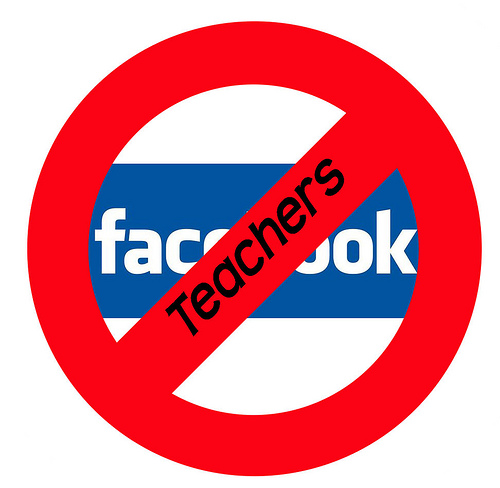 Teachers on facebook - Haha I dint make this. This was the first thing on google search :P