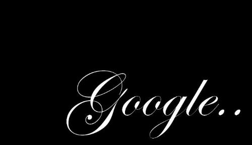 google black and white - its nice