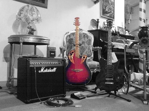 guitars - and another one.
