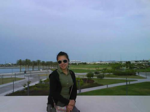 Me in Qatar - This photo was taken in Qatar Islamic Museum.