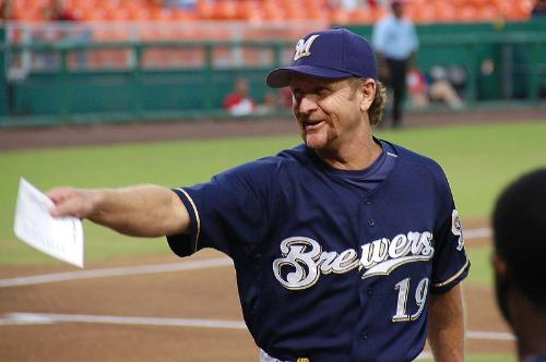 Robin Yount - Robin Yount when he was the bench coach for the Milwaukee Brewers.