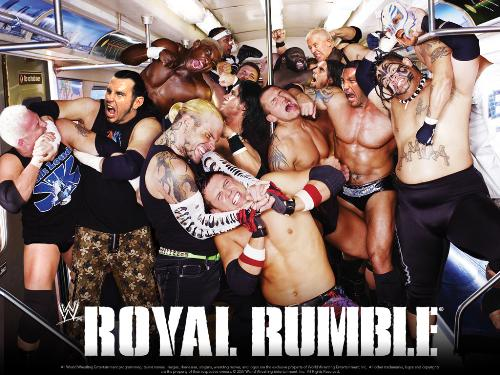 wwe - wwe royal rumble 30 man match wrestlers